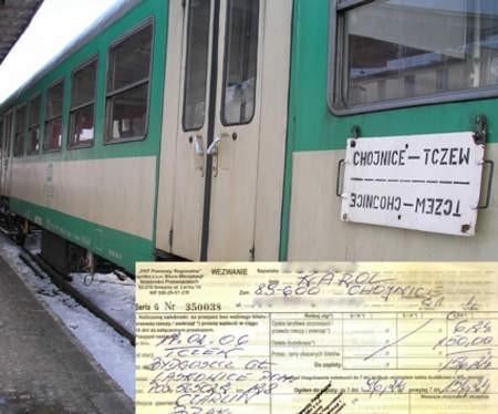 Gdyby nasz Czytelnik wracał do domu pociągiem tej relacji, nie zapłaciłby 96 złotych mandatu.