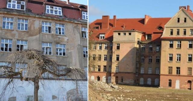 Kiedyś wspaniały obiekt, dziś przerażająca ruina. Kasyno wojskowe w Żaganiu, przy ul. Traugutta tak wygląda dzisiaj.
