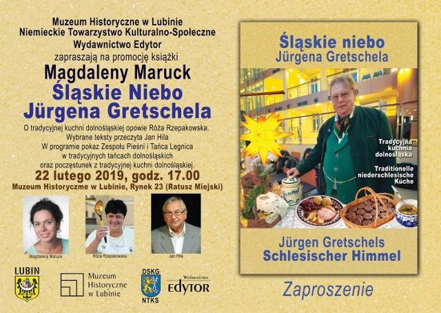 Śląskie Niebo Jürgena Gretschela - promocja książki Magdaleny Maruck