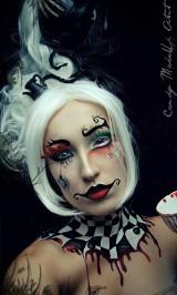 Przerażające makijaże holenderskiej artystki [zdjęcia]