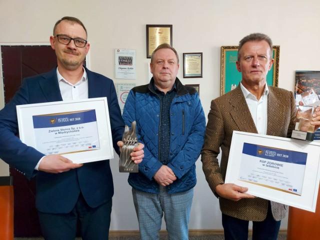 Gospodarczo – Samorządowy HIT Wielkopolski za rok 2020 przyznany. Wśród laureatów samorządy i firmy z powiatu międzychodzkiego.
