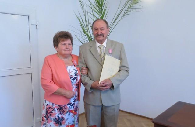 Maria i Adam Pikula z Sobowidza