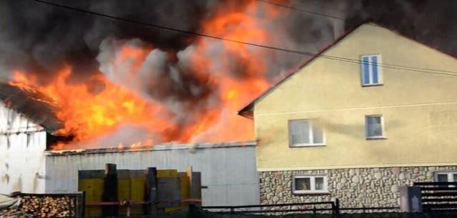 Do pożaru w Nowej Białej doszło niecały miesiąc temu.