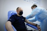 Ruszyły szczepienia służb mundurowych. Zapisało się ponad 50 proc. lubelskich policjantów
