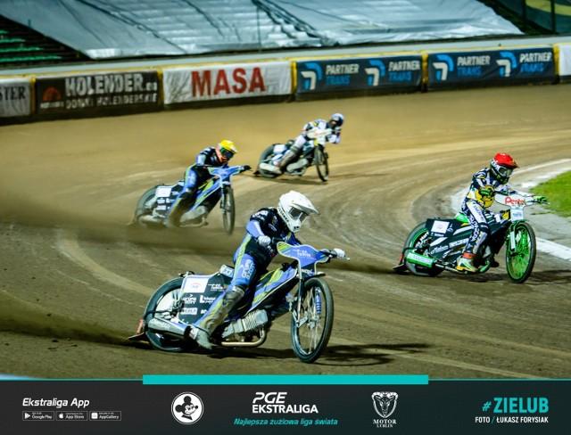 W pierwszej rundzie rozgrywek PGE Ekstraligi Motor Lublin wygrał z Falubazem w Zielonej Górze 46:44.