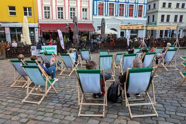 Cafe Jazz Trio na Rynku Siennym w Szczecinie