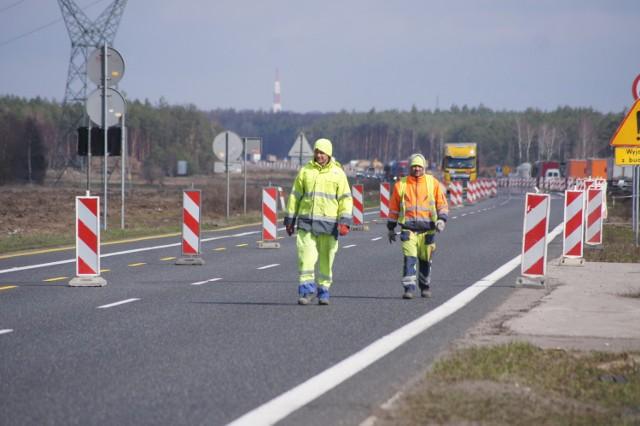 Ruszają prace na A1 od Radomska do granicy woj. śląskiego. Zmiana organizacji ruchu