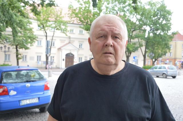 Marek Boroski zasiada w Radzie Miejskiej w Łowiczu od 2014 roku