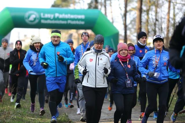 W tegorocznym biegu - w styczniu 2018 - wzięło udział prawie 130 osób.