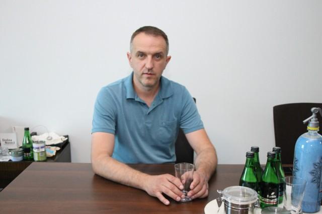 Wojciech Wójcik to przedsiębiorca z Koźmina Wielkopolskiego