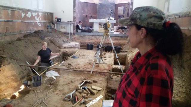 Badania archeologiczne w kościele św. Małgorzaty w 2018 r.