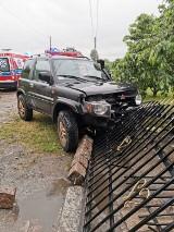 Gm. Malbork. Mieszkańcy Grobelna, dyspozytor pogotowia i strażacy uratowali kierowcę, który stracił przytomność w trakcie jazdy