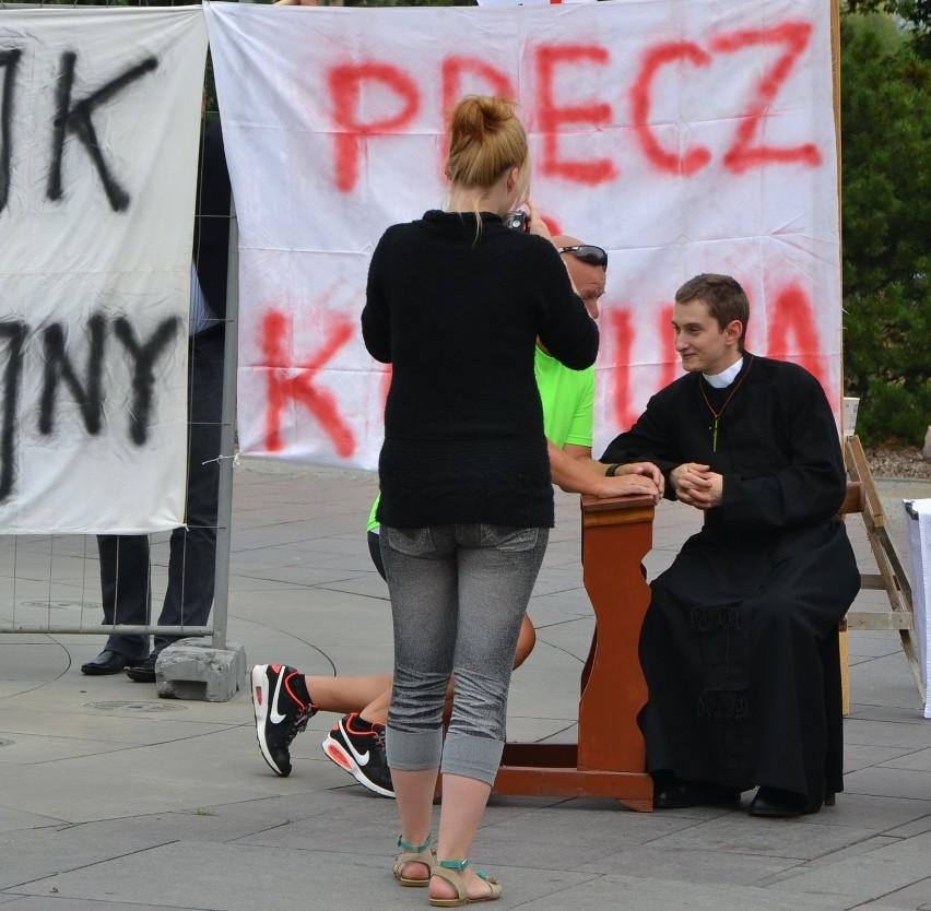Malbork. Sierpień '80 na placu Jagiellończyka jak w stoczni im. Lenina