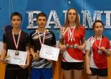 Badmintoniści powiatu puckiego walczyli w Sianowie i Białymstoku. Worek medali zapewnili Marianna Konkel i Kacper Krawczyk   ZDJĘCIA