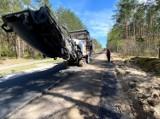 Powiat świecki. Trwa modernizacja drogi z Wałkowisk do Jeżewa