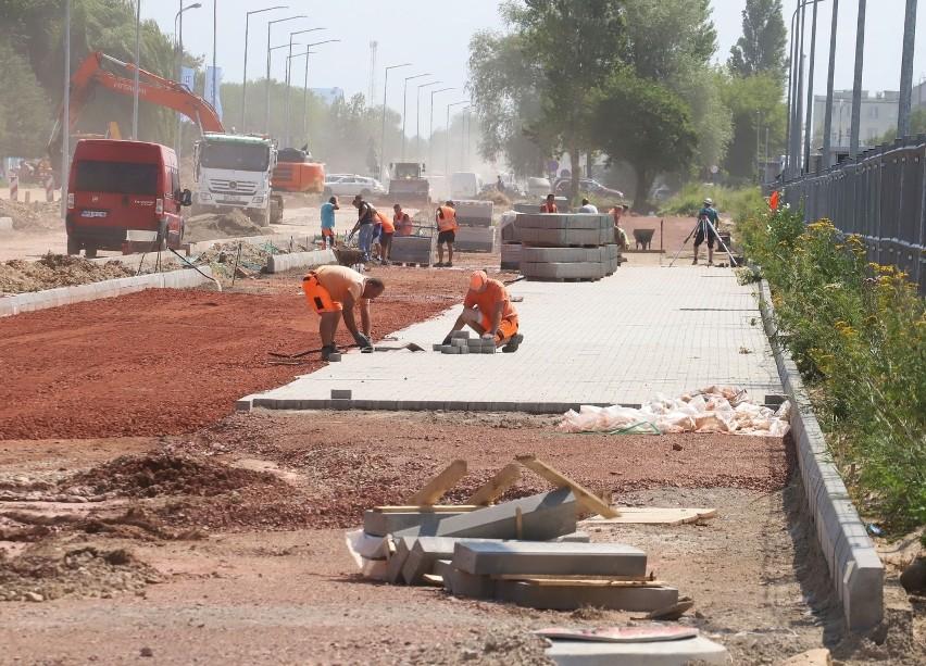 Trwa przebudowa ulicy Marii Fołtyn w Radomiu. Zobacz zdjęcia!