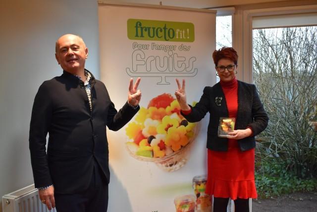 Właściciele Fructofresch: Grażyna Ulrich-Zwoińska oraz Cezary Zwoiński cieszą się ze zwycięstwa po długiej batalii w sądzie.