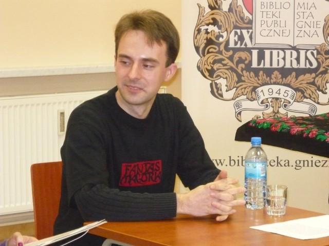 Wiktor Koliński wprowadził młodych ludzi w świat fantastyki