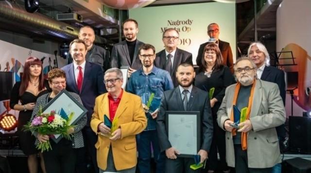 Coroczne wyróżnienia miasta przyznawane są opolskim artystom za wybitne zasługi w dziedzinie kultury. Na zdjęciu laureaci edycji 2019.