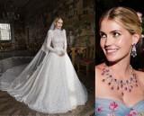 Bratanica Księżnej Diany, Kitty Spencer w najpiękniejszej sukni ślubnej świata! O kreacji Dolce&Gabbana mówi cały świat. Zobacz zdjęcia
