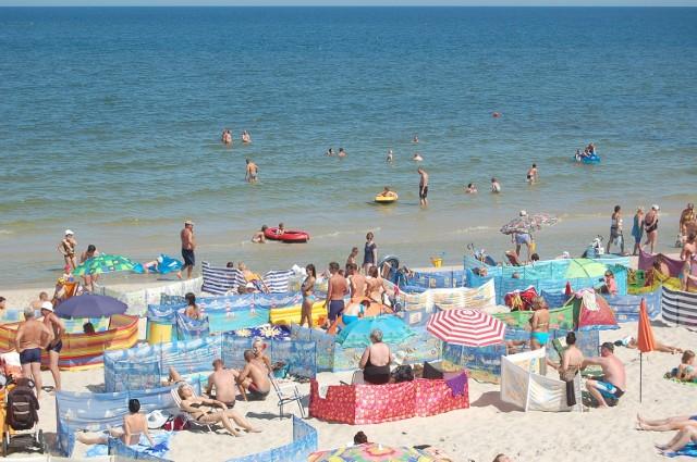 Plaża B w Łebie