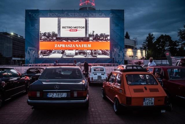 Kino samochodowe w Poznaniu odbywało się na terenie Międzynarodowych Targów Poznańskich w czasie Mistrzostw Świata w piłce nożnej w 2018 r. Później nikt już do tego pomysłu nie nawiązał.
