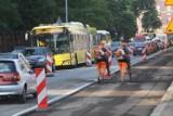 Katowice: Remont Mikołowskiej. Drogowcy rozpoczęli wymianę nawierzchni. Będą utrudnienia