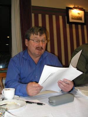 Henryk Mollin, działacz PiS w Czersku uważa, że miał pełne prawo uczestniczyć w zebraniu wiejskim w Mokrem.