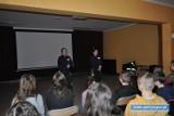 Policjantki z Lubina spotkały się z młodzieżą by rozmawiać o cyberprzemocy