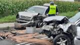 Wypadek w Jastrzębnikach pod Kaliszem. ZDJĘCIA