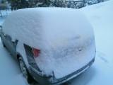 W nocy nasypało sporo śniegu w Przemyślu i okolicy. Najwięcej tej zimy [ZDJĘCIA INTERNAUTKI]