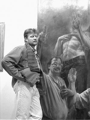Pięćdziesiąt prac w ołówku autorstwa chorzowskich artystów można podziwiać w MDK Batory. Fot: Sylwester Witkowski
