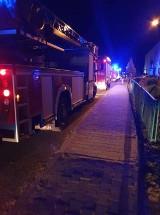 Dwie osoby zostały ranne w pożarze w Dziewokluczu