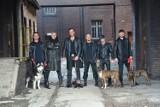 Oberschlesien z psami w sesji zdjęciowej do akcji Nowoczesna Polska-PSIjaznA Polska