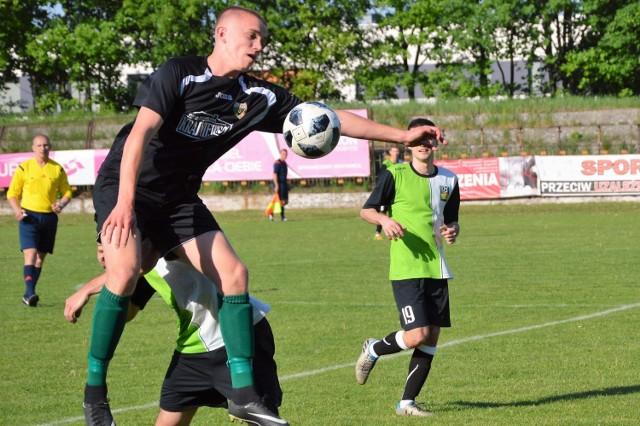 Patryk Senkowski zdobył dwa gola dla Górnika Brzeszcze, ale to było za mało, żeby zdobyć choćby punkt w Polance Wielkiej