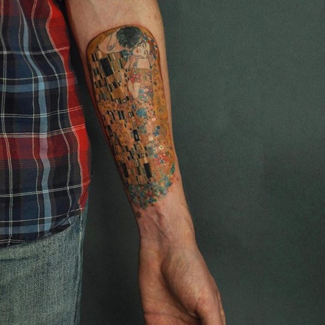 Te tatuaże były inspirowane dziełami sztuki. Same zasługują na takie miano?