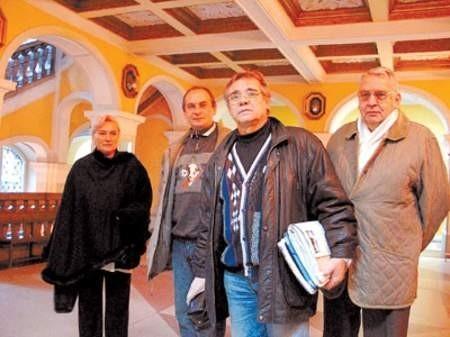 Anna Brabańska, Paweł Majewski, Piotr Gajdzik i Aleksander Paszkowski wreszcie mogli spotkać się z prezydentem.