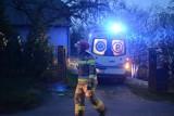 Pożar w Grucie pod Grudziądzem. Mężczyzna ma poparzone niemal całe ciało [wideo, zdjęcia]