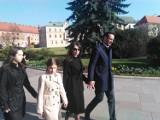 Kraków. Marta Kaczyńska przyjechała na Wawel z nowym partnerem