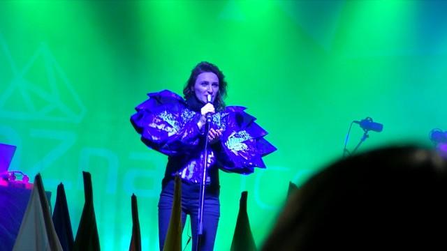 XI Poznań Ice Festival rozpoczął się dzisiaj na Starym Rynku koncertem Reni Jusis.