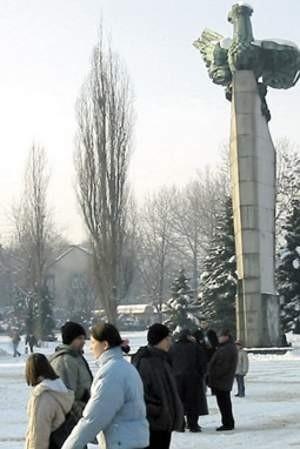 Plac Tysiąclecia w trzech czwartych należy do prywatnych właścicieli. Fot. Agnieszka FILIPOWICZ