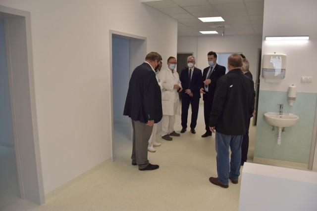 Moduł medyczny przy szpitalu w Żninie został oddany do użytku