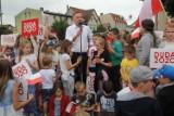 Złotów. Wizyta Prezydenta RP Andrzeja Dudy w Złotowie