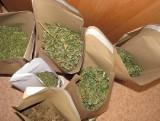 Gołąb: Groził matce zabójstwem, miał ponad 1 kg marihuany