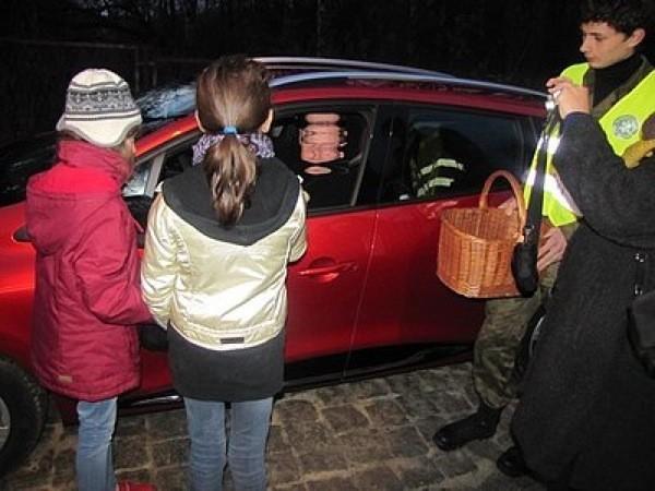 Policja w Lublińcu wraz z młodzieżą kontrolowała kierowców