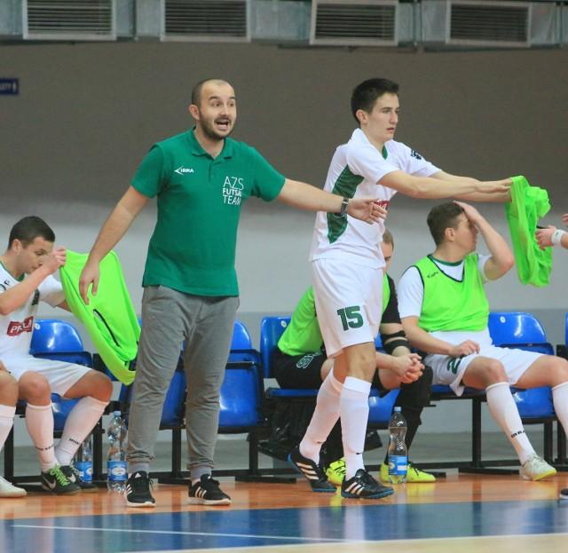 Futsaliści UMCS Lublin wygrali rywalizację lubelskich uczelni. Przed nimi walka w półfinale Akademickich Mistrzostw Polski