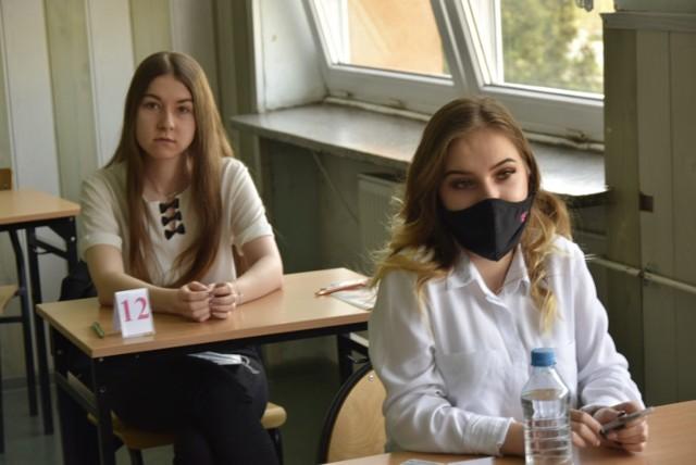 Maturzyści skierniewickiej Budowlanki przystąpili do egzaminu z języka polskiego