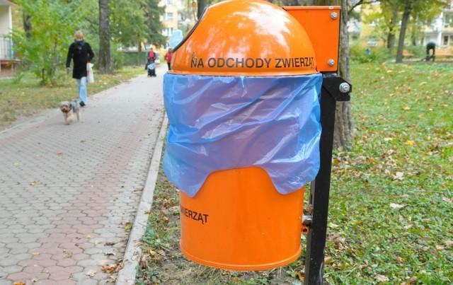 Pojemniki pojawiły się na razie tylko na os. Mickiewicza