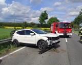 Wypadek we Frydrychowie. DK 46 Paczków-Nysa zablokowana [Aktualizacja]