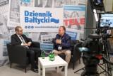 """Forum Wizja Rozwoju w Gdyni. O biznesie w mobilnym studiu """"Dziennika Bałtyckiego"""". Rozmawia redaktor naczelny Artur Kiełbasiński"""